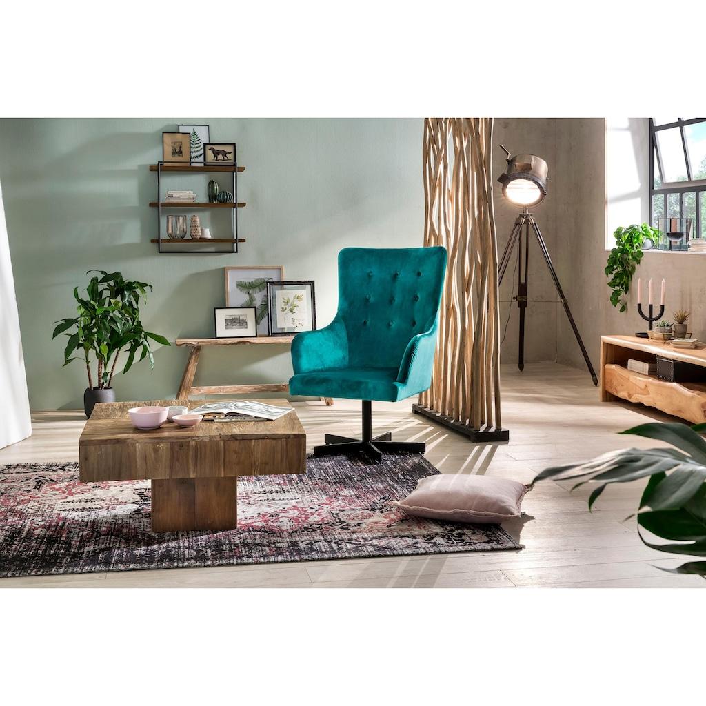 SIT Raumteiler »Romanteaka«, aus recyceltem Teakholz, Shabby Chic, Vintage