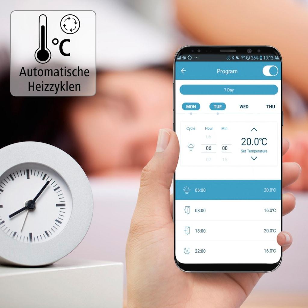 Hama Smartes Heizkörperthermostat »Smart Home mit Hub und Adapter«, WLAN Heizungssteuerung, Set 2x