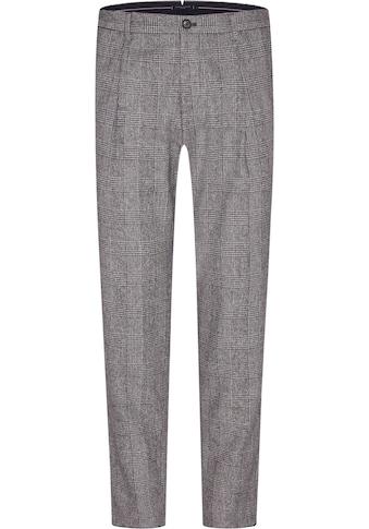Tommy Hilfiger TAILORED Anzughose »CHECK SLIM PANT«, durch Riegel in der Weite... kaufen