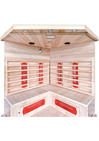 HOME DELUXE Infrarotkabine »Redsun XXL«, 40 mm, für bis zu 4 Personen kaufen
