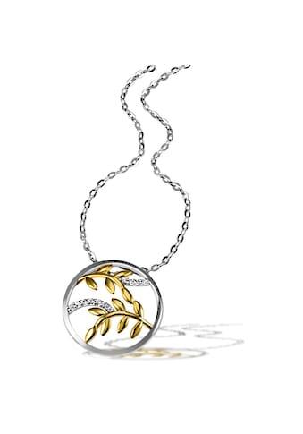 goldmaid Collier 925/- Sterlingsilber 11 weiße Zirkonia kaufen