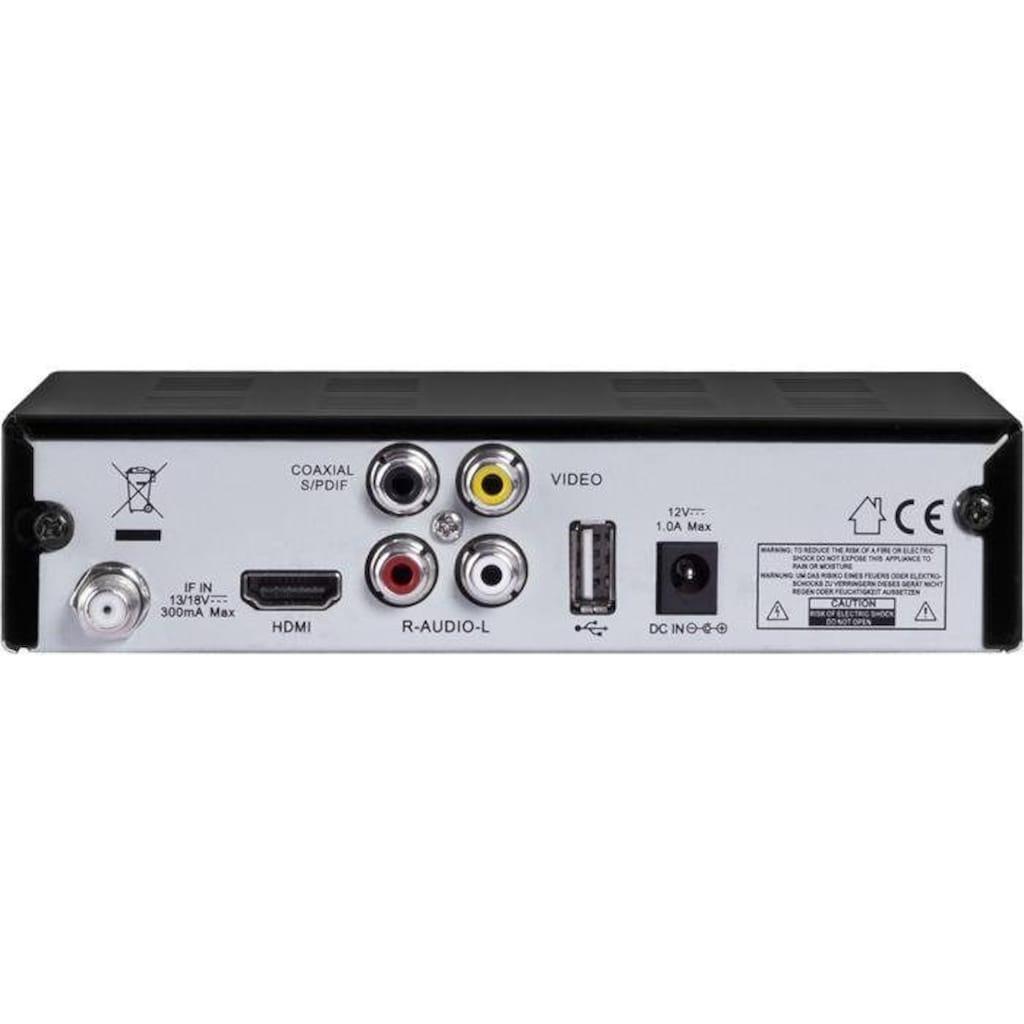 Digitalbox SAT-Receiver »HD 5 kompakt«, (WLAN), (HDMI, USB Mediaplayer, Display)