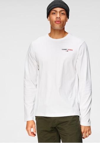 Tommy Jeans Langarmshirt »TJM LONGSLEEVE CORP TEE« kaufen