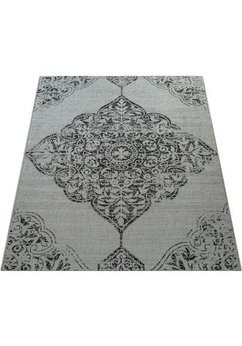 Paco Home Teppich »Coco 202«, rechteckig, 4 mm Höhe, Flachgewebe, In- und Outdoor... kaufen