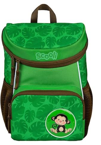 Scooli Kinderrucksack »Mini-Me, Max Monkey«, Reflektoren kaufen