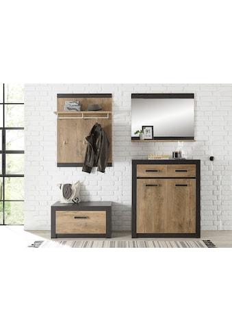 my home Garderoben-Set »BRÜGGE«, (Komplett-Set, 4 St., bestehend aus Garderobenbank... kaufen