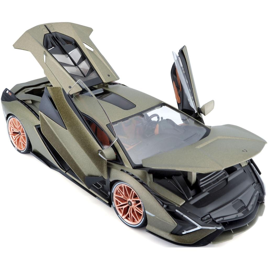 Bburago Sammlerauto »Lamborghini Sian FKP 37«, 1:18