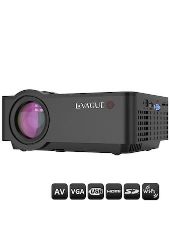 LA VAGUE LED-Beamer »LV-HD340 Wi-Fi«, (1000:1), unterstützt Full HD, ideal zum... kaufen