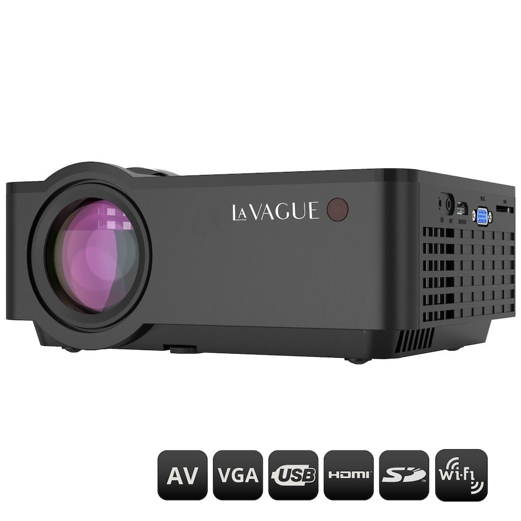 LA VAGUE LED-Beamer »LV-HD340 Wi-Fi«, (1000:1), unterstützt Full HD, ideal zum Streamen von Netflix