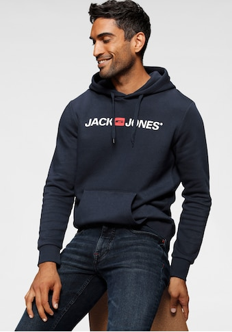 Jack & Jones Kapuzensweatshirt »Jack & Jones Logo Hoodie Oldschool« kaufen