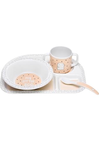 LÄSSIG Kindergeschirr-Set »Little Spookies, Peach«, (4 tlg.) kaufen