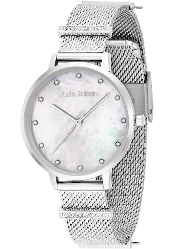 Julie Julsen Quarzuhr »Charming Pearl Silver, JJW1231SME-34« kaufen
