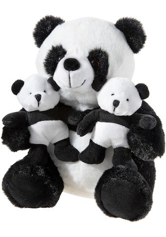 """Heunec® Kuscheltier """"Panda mit Zwillingen, 26 cm"""" kaufen"""