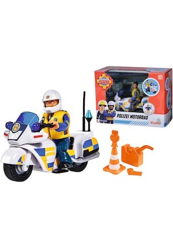 SIMBA Spielzeug-Motorrad »Feuerwehrmann Sam, Polizei Motorrad mit Figur« kaufen
