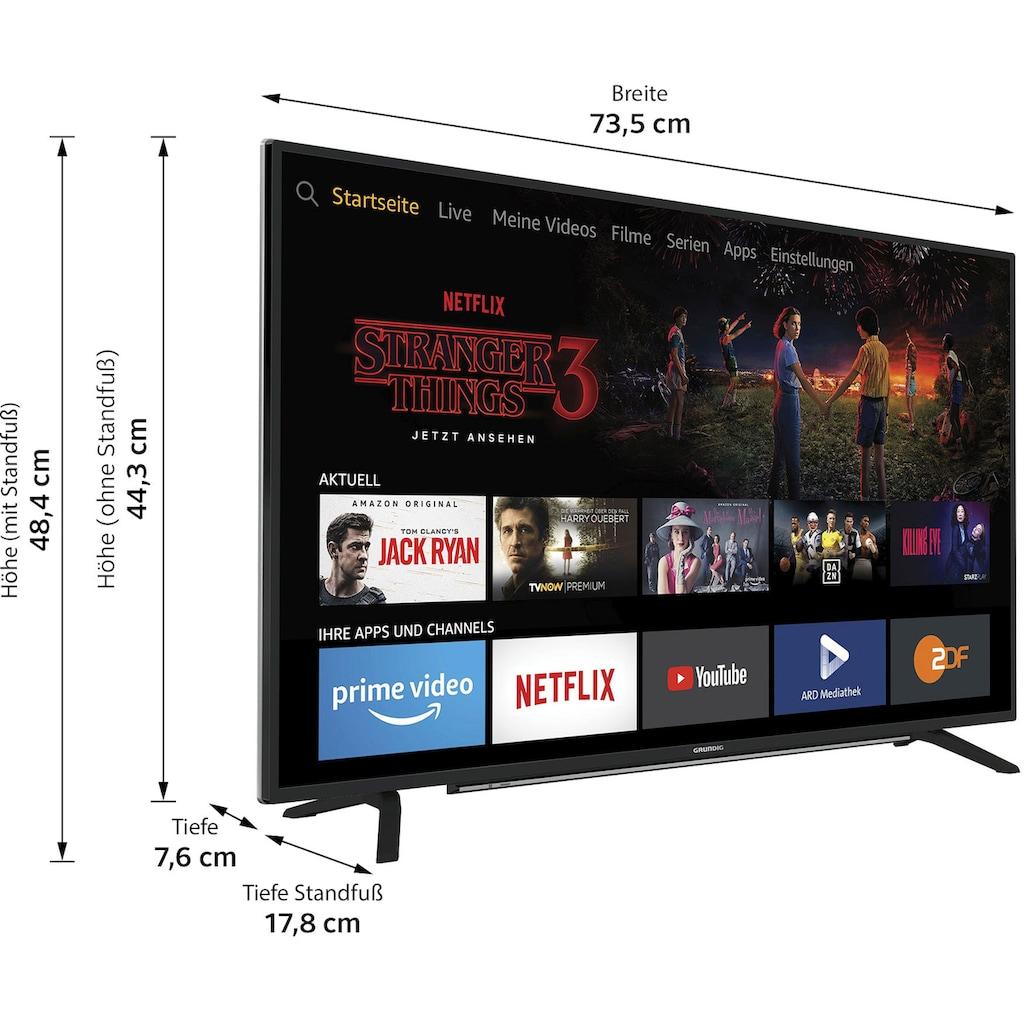 "Grundig LED-Fernseher »32 VLE 6020 - Fire TV Edition TCJ000«, 80 cm/32 "", Full HD, Smart-TV, Fire-TV-Edition"