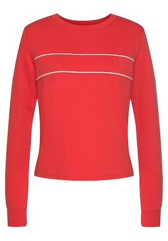 H.I.S Sweatshirt, mit Piping auf der Brust kaufen