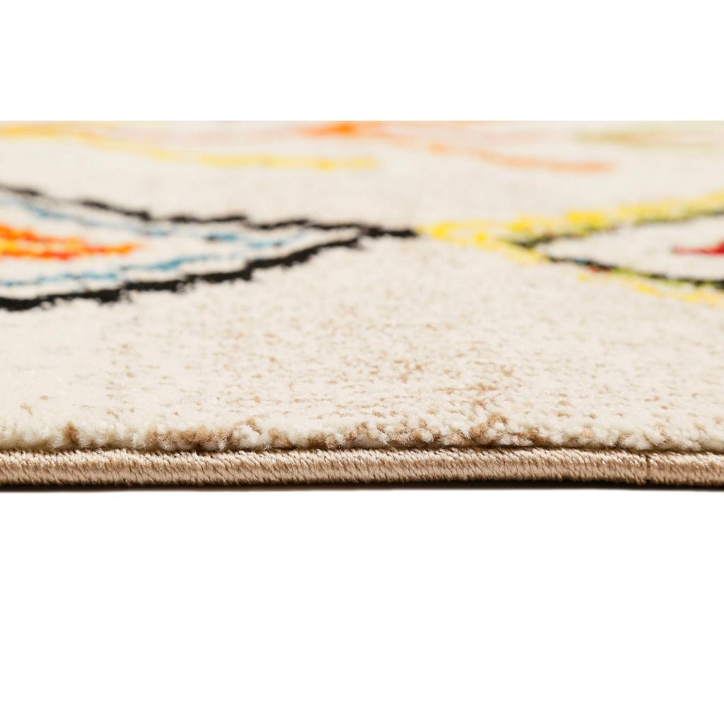 Wecon home Teppich »Medina«, rechteckig, 13 mm Höhe, Wohnzimmer