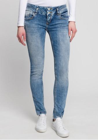 LTB Slim-fit-Jeans »ZENA«, mit doppelknopf und Ziernähten kaufen