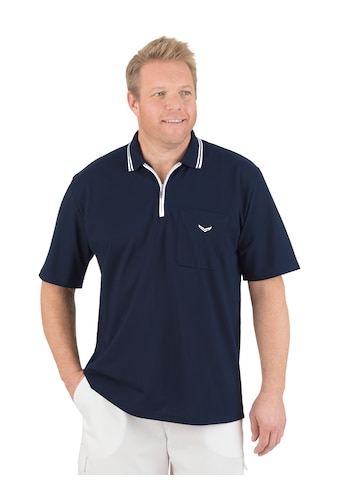 Trigema Poloshirt mit Reißverschluss kaufen