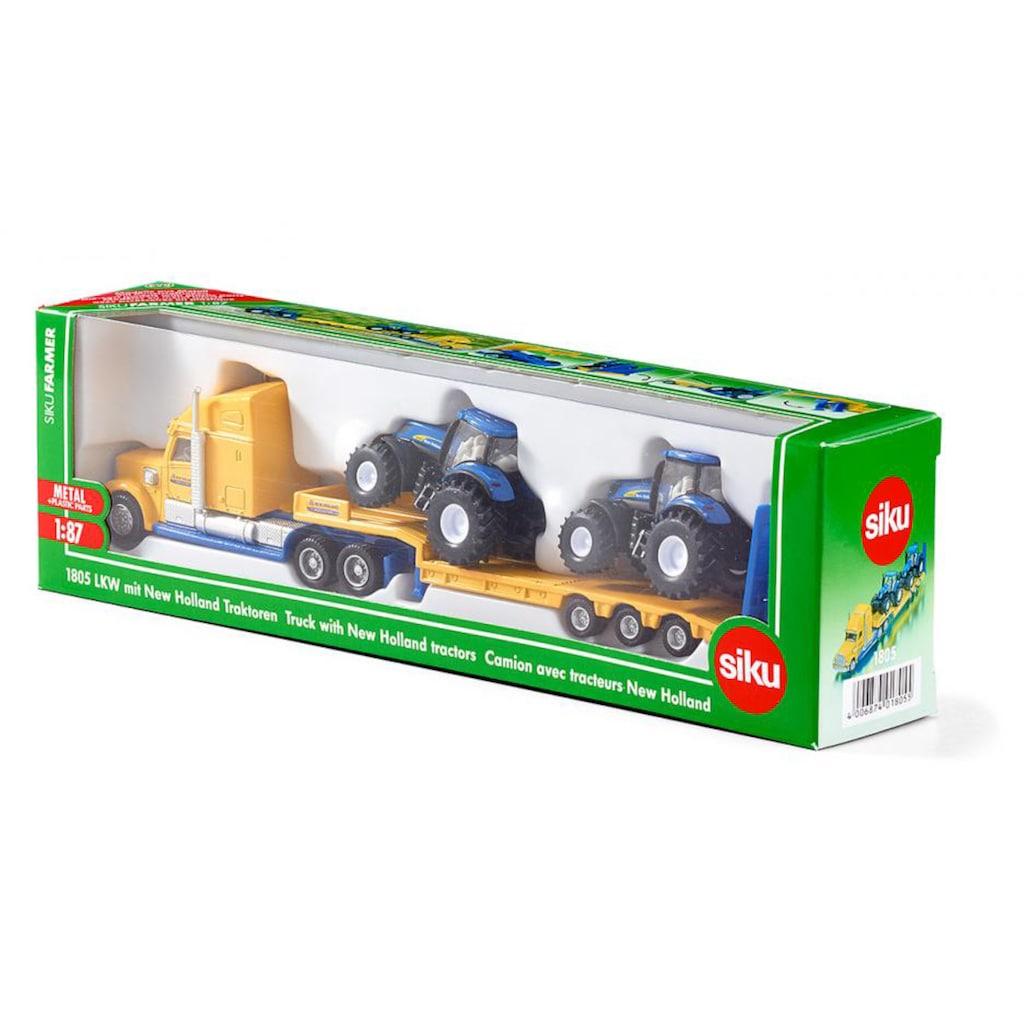 Siku Spielzeug-LKW »SIKU Farmer, New Holland Traktoren«