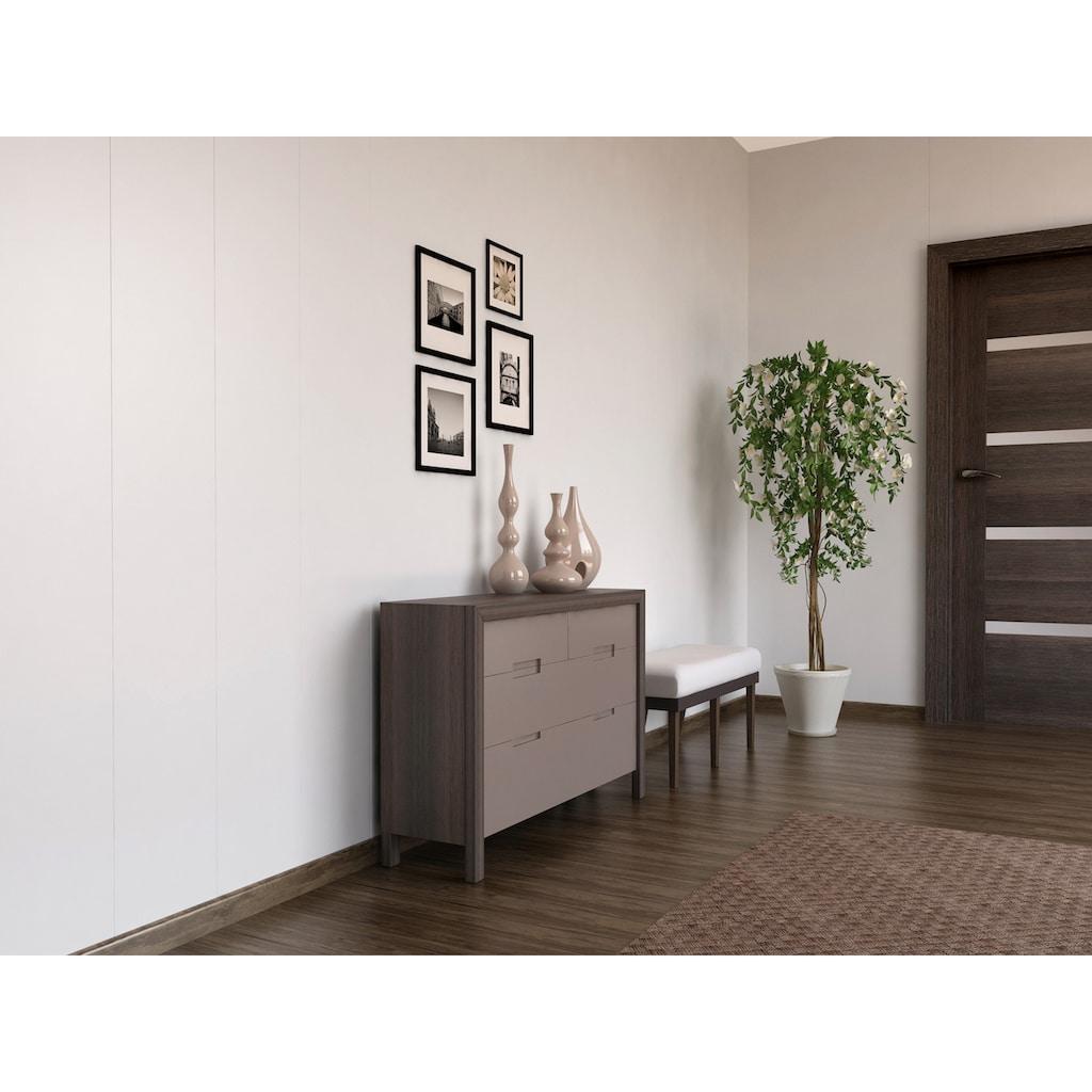 Baukulit VOX Verkleidungspaneel »Eco-Line«, hochglänzend, glatt, weiß