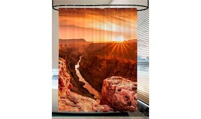 SANILO Duschvorhang »Grand Canyon«, 180 x 200 cm kaufen