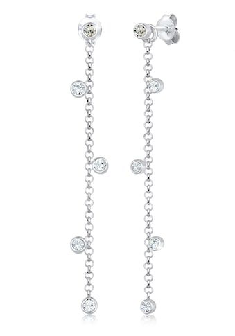 Elli Paar Ohrhänger »Hänger Geo Swarovski® Kristalle 925 Silber Pretty« kaufen