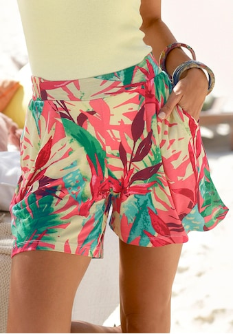 Buffalo Strandshorts, mit buntem Tropicalprint kaufen