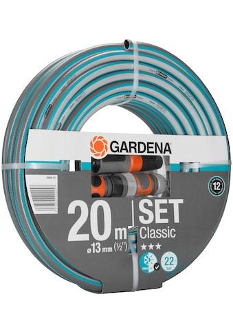 """GARDENA Gartenschlauch »Classic, 18008-20«, 13 mm (1/2""""), mit Systemteilen kaufen"""