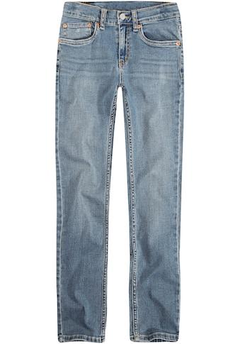 Levi's Kidswear Stretch - Jeans »LVB 512 SLIM TAPER JEAN« kaufen