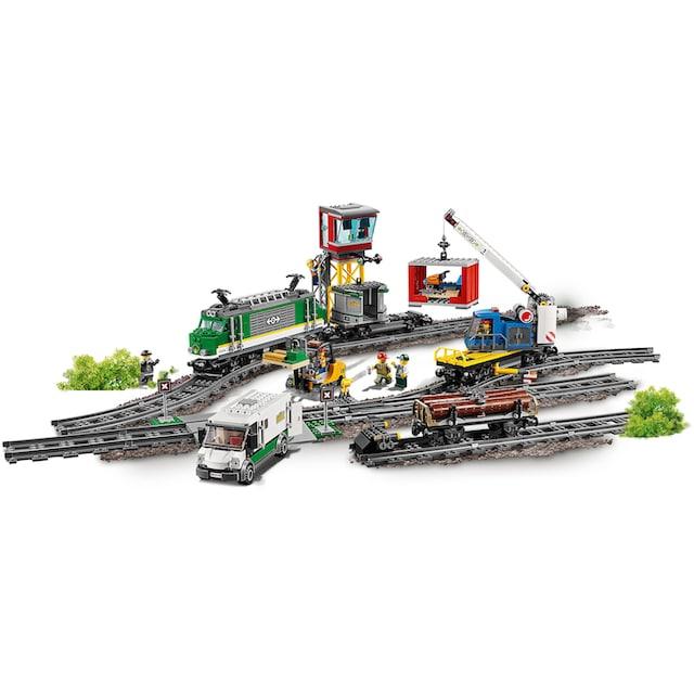 "LEGO® Konstruktionsspielsteine ""Güterzug (60198), LEGO® City"", Kunststoff, (1226-tlg.)"