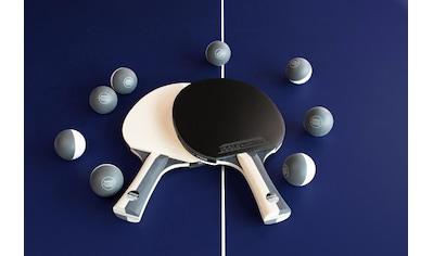 Joola Tischtennisschläger »JOOLA Tischtennis-Set BLACK + WHITE«, (Set, 10 tlg., mit... kaufen