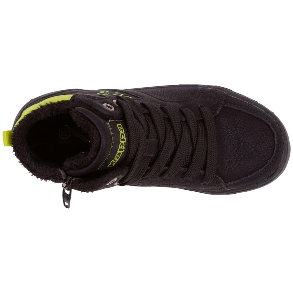 Kappa Sneaker »GRAFTON TEENS«, mit praktischem Reißverschluss an der Innenseite