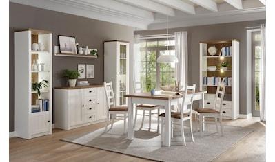 Home affaire Wohnwand »Beauvais«, (Set, 4 St.), im Landhausstil kaufen