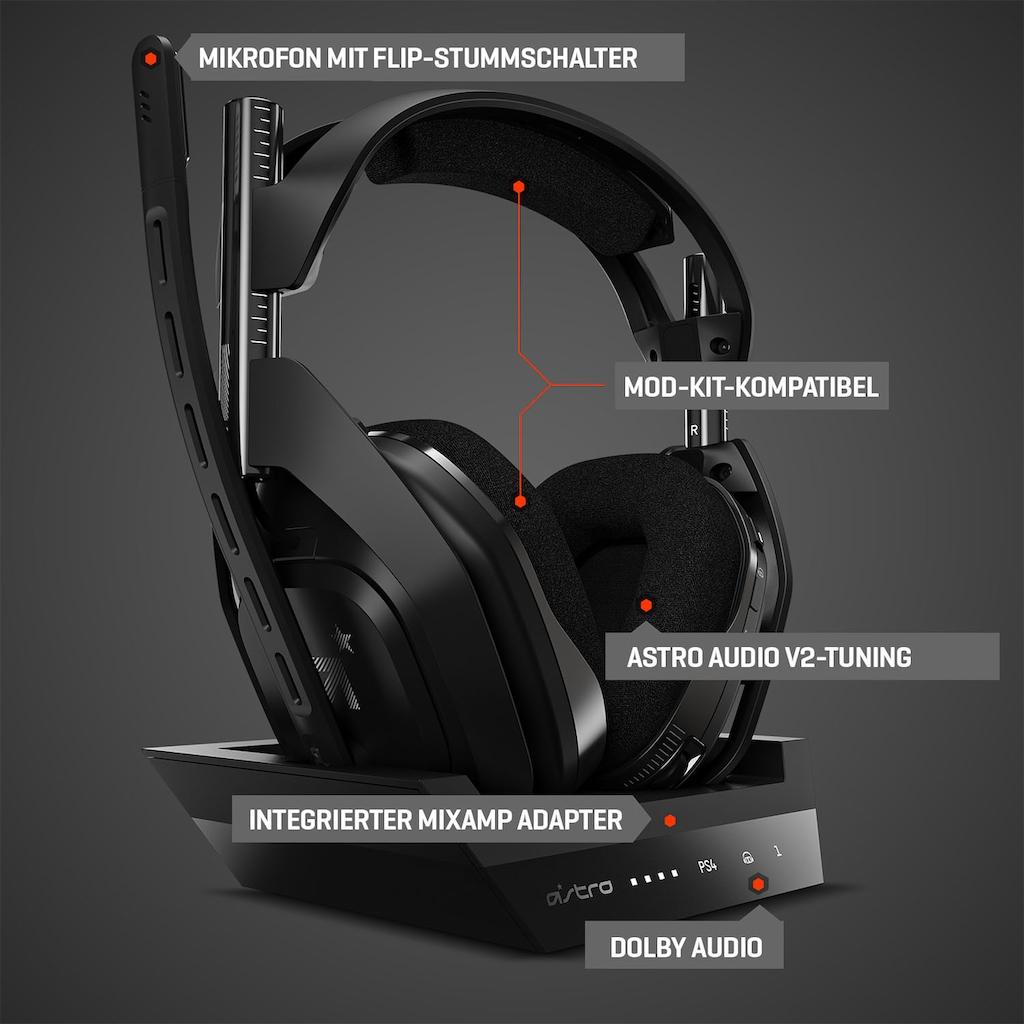 ASTRO Gaming-Headset »A50 Gen4 Xbox One«, Rauschunterdrückung, Dolby Audio, für PS5, PS4, PC, Mac