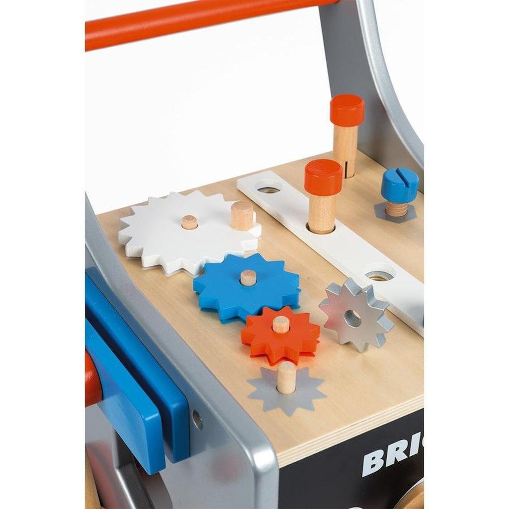 Janod Werkbank »Brico'Kids Werkbankwagen groß«, mit 25 Zubehörteilen
