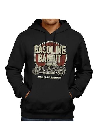 GASOLINE BANDIT® Kapuzenpullover mit Front-Print kaufen