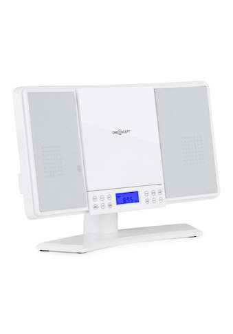 ONECONCEPT Stereoanlage UKW MW CD MP3 AUX LCD Display Wecker Kompakt Anlage »V 14« kaufen