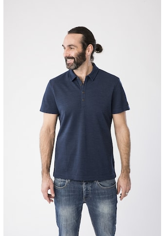 SUPER.NATURAL Poloshirt »M WAYFARER POLO«, toller Merino-Materialmix kaufen