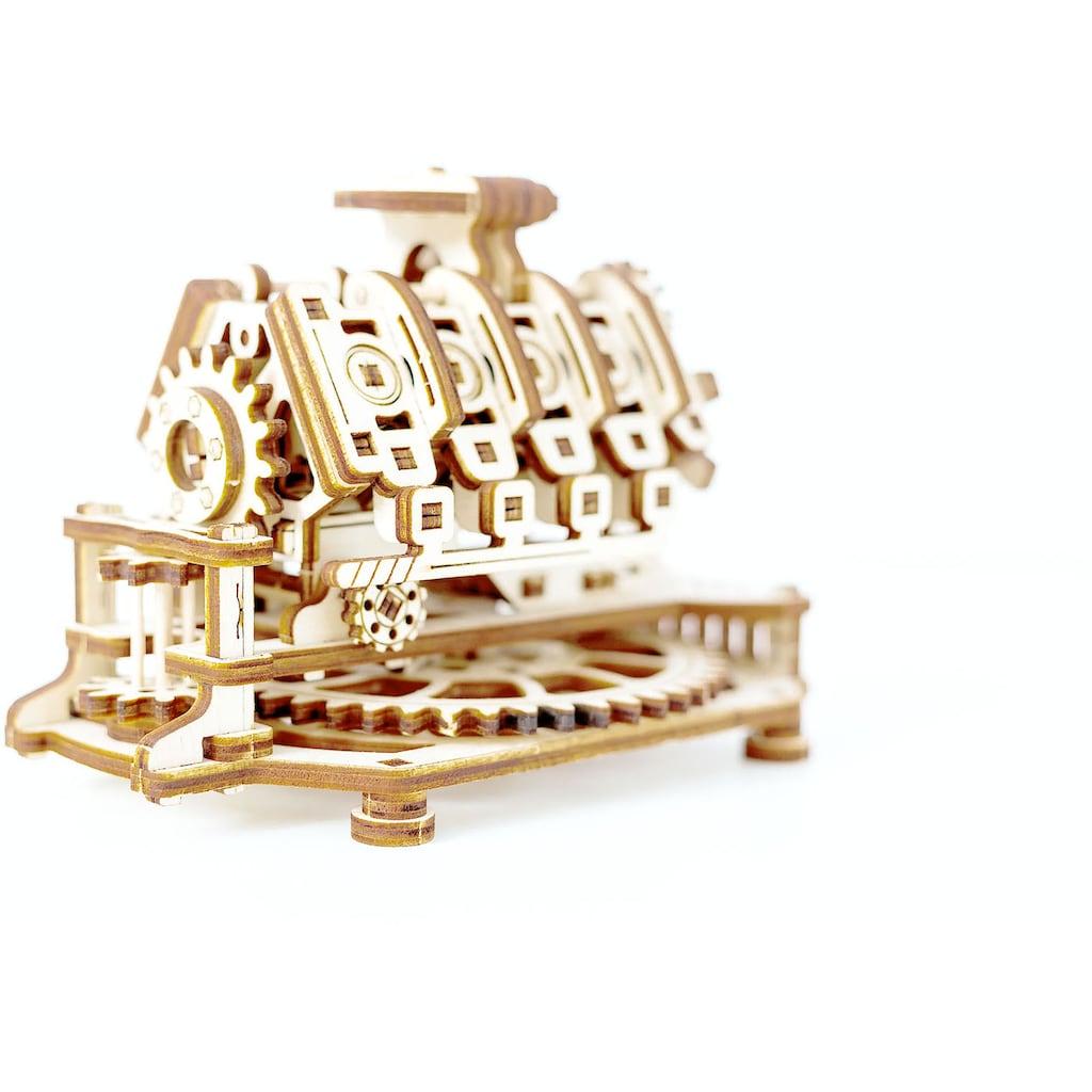 Wooden City Modellbausatz »V8 Engine«, aus Holz; Made in Europe