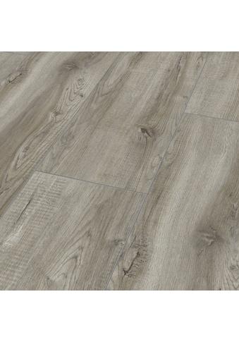 Bodenmeister Laminat »Dielenoptik Eiche grau rustikal«, Landhausdiele 1380 x 244 mm,... kaufen