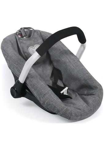 CHIC2000 Puppen Autositz »Jeans Grey« kaufen