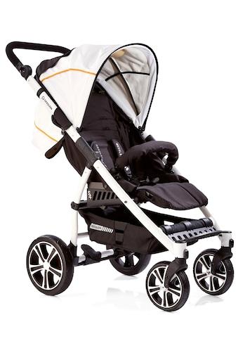Gesslein Kinder-Buggy »S4 Air+ White, Schwarz/Weiß«, mit schwenkbaren Vorderrädern kaufen