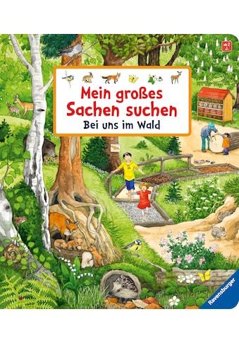 Buch »Mein großes Sachen suchen: Bei uns im Wald / Susanne Gernhäuser, Anne Ebert« kaufen