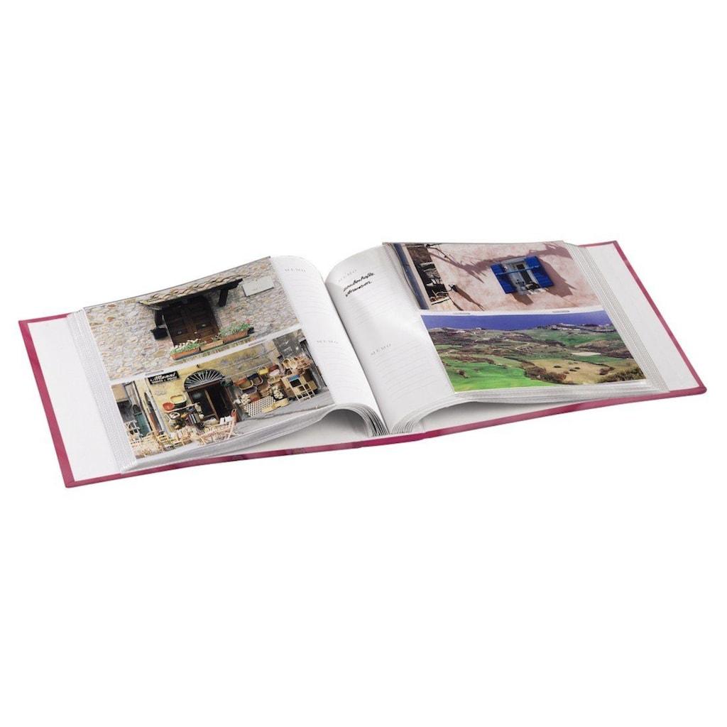 """Hama Fotoalbum »Fotoalbum """"Singo""""«, für 200 Fotos im Format 10x15 cm, Pink"""