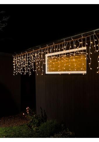 KONSTSMIDE LED-Lichtervorhang, 400 St.-flammig, LED Eisregen Lichtervorhang, mit... kaufen