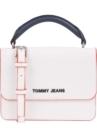 Tommy Jeans Umhängetasche »TJW FEMME PU FLAP CROSSOVER«, im praktischem Format kaufen