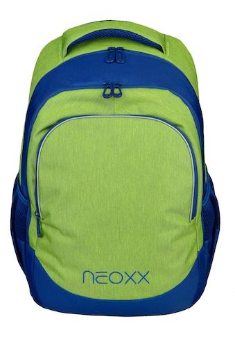 neoxx Schulrucksack »Fly, Lime o'clock« kaufen