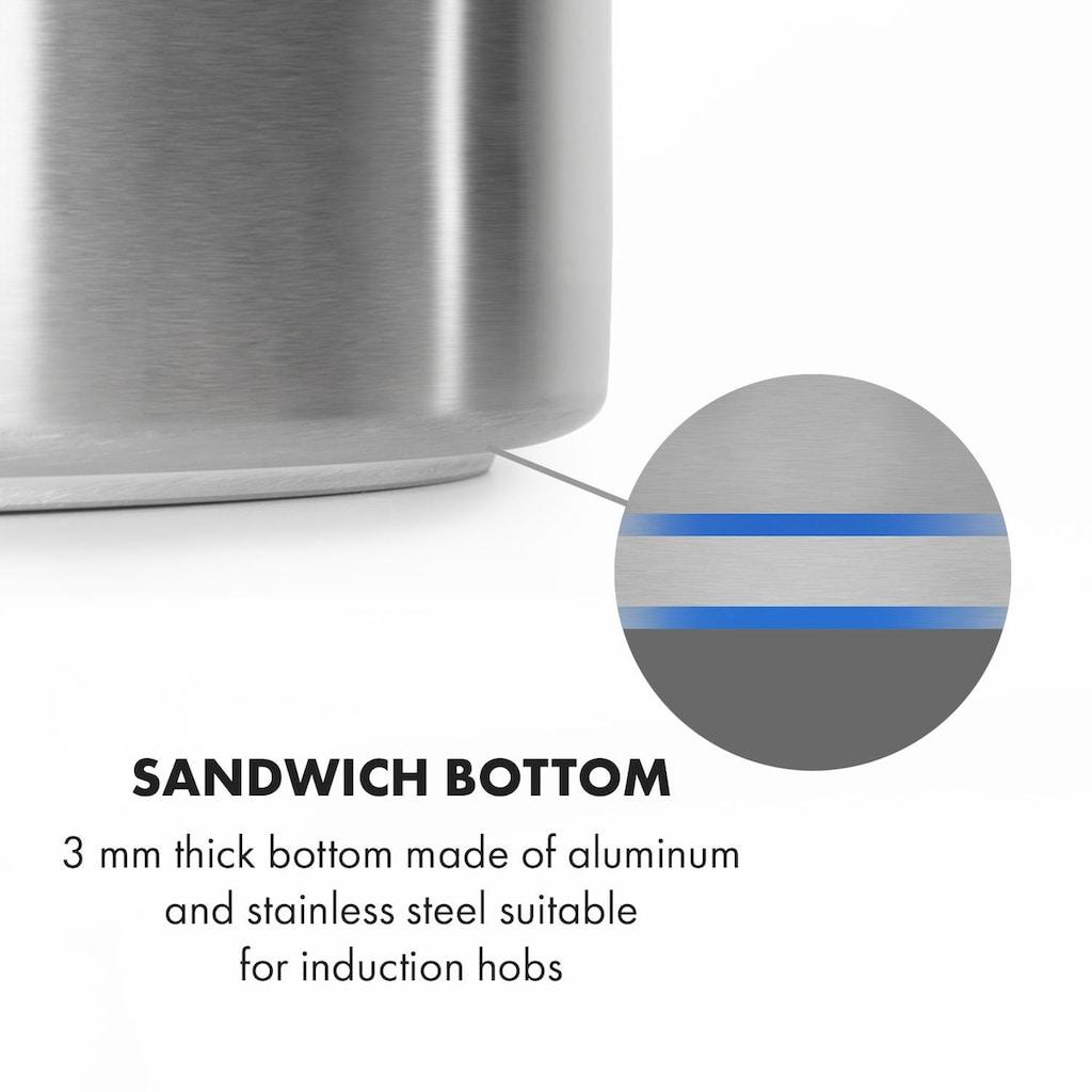 Klarstein Maischekessel 35 Liter ohne Heizelement Edelstahl
