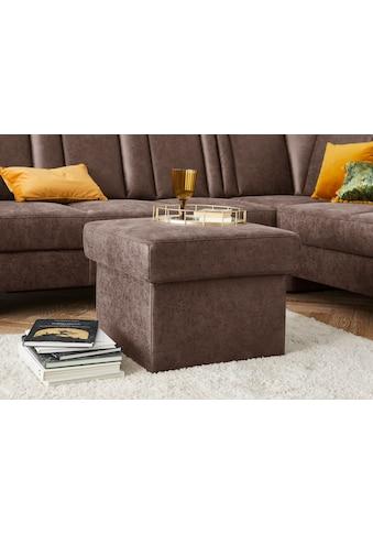 sit&more Stauraumhocker »Melissa«, mit Stauraum, klassisches Design, optional in dem... kaufen